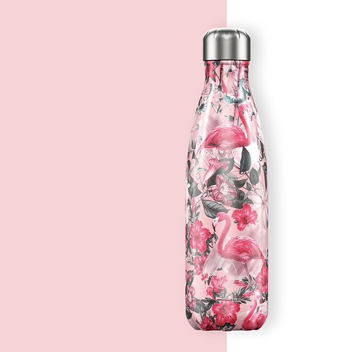 Chilly's — Bouteille Isotherme 500mL Flamingo