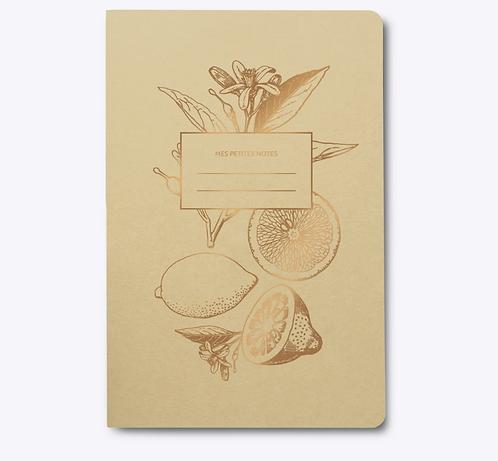 Les Éditions du Paon — Cahier dos carré Lemonade