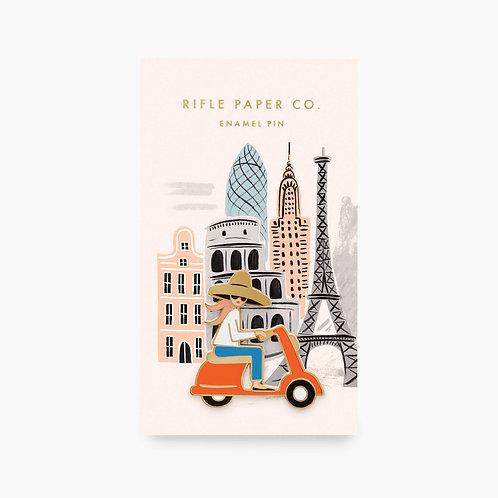 Rifle Paper co. — Pin's Vespa