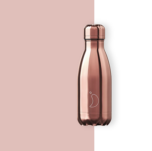 Chilly's — Bouteille Isotherme 260 mL Rose Gold