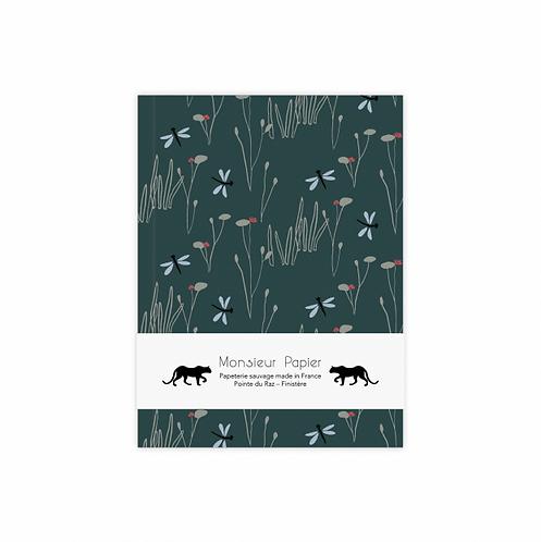 Monsieur Papier — Carnet Libellules