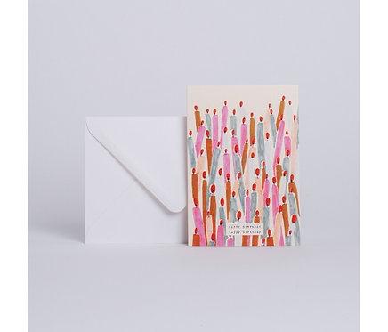 Season Paper — Carte Bougies