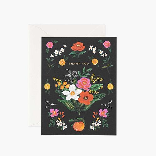 Rifle Paper co. — Carte Orangerie Thank You