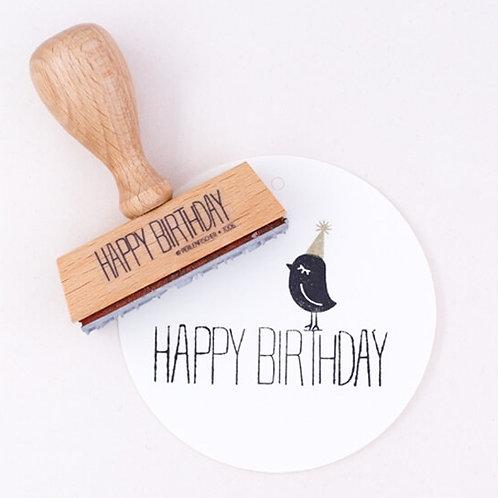 Perlenfischer — Tampon Happy Birthday