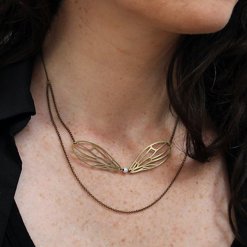 Amélie Blaise — Collier Libellule