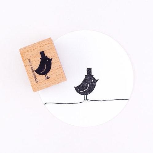Perlenfischer — Tampon Oiseau au chapeau