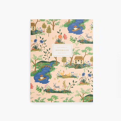 Rifle Paper co. — Cahier Garden Toile