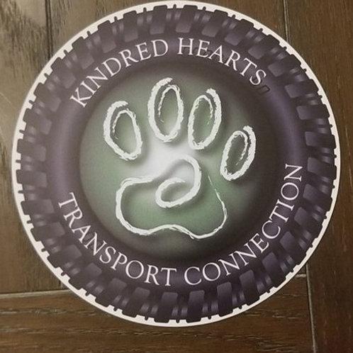 KHTC Round Wheel Logo Magnet