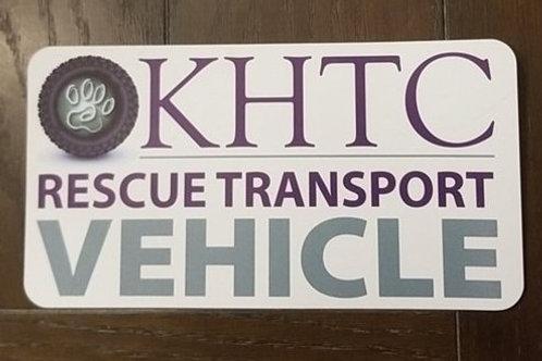 KHTC Rescue Transport Vehicle Magnet