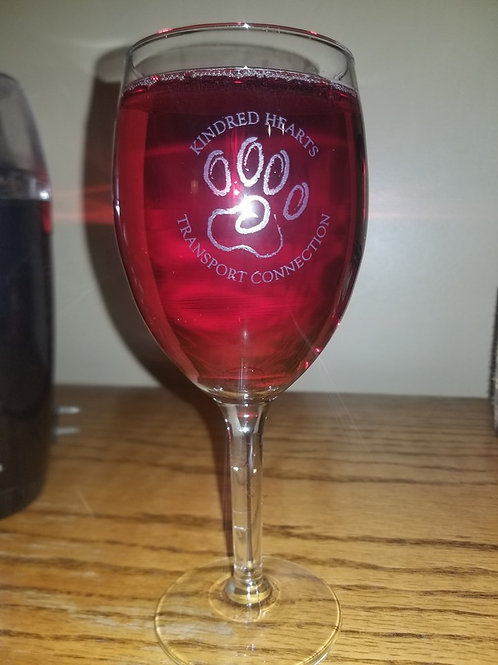 KHTC Wine Glass