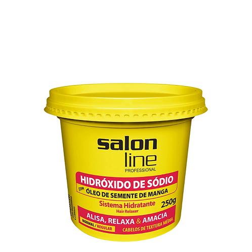 Hidróxido de Sódio Salon Line Óleo Semente de Manga Regular 250g