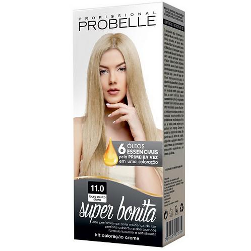 Coloração Probelle Super Bonita 11.0 Louro Muito Claro 50g