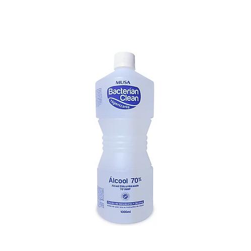 Álcool 70% Musa Bacterian Clean 1000ml