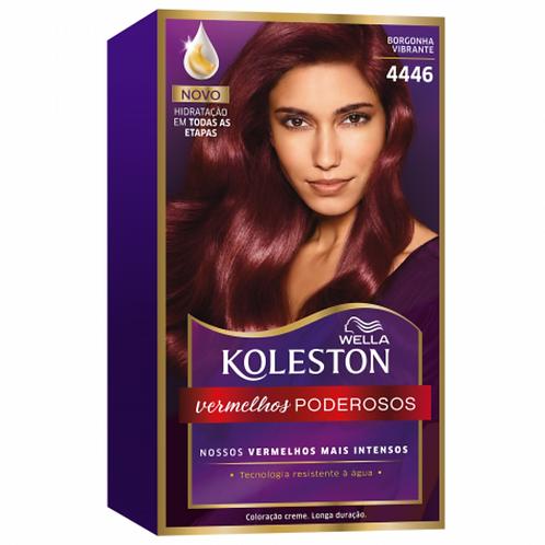 Coloração Creme Wella Koleston Borgonha Vibrante 4446