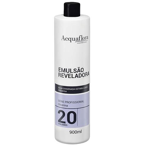 Emulsão Reveladora Acquaflora 20vol 900ml (Água Oxigenada)