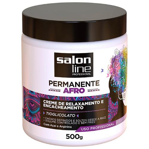 Creme de Relaxamento Salon Line Permanente Afro  500g