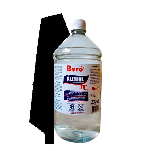 Álcool Liquido 70% Boró 1L