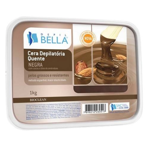 Depil Bella Cera Depilatória Negra 1kg
