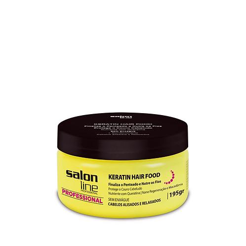 Pomada Salon Line Keratin Hair Food 195g