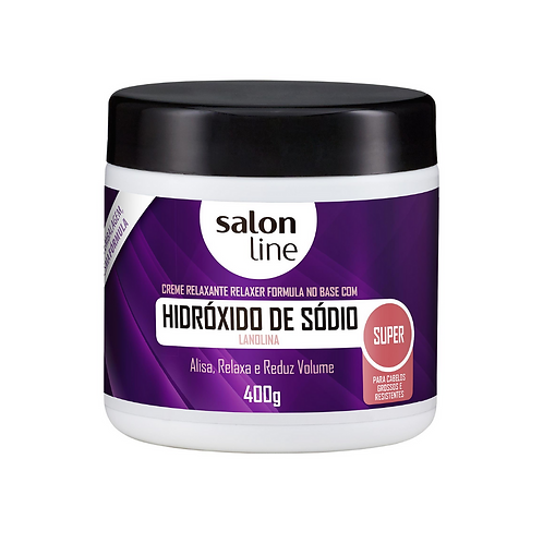 Hidróxido de Sódio Salon Line Lanolina Super 400g