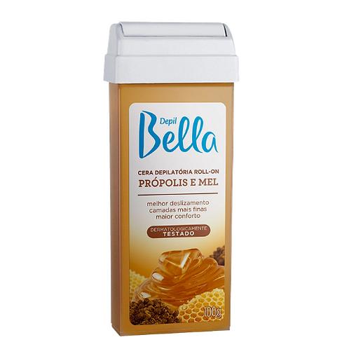 Depil Bella Cera Depilatória Roll-on Própolis E Mel 100g