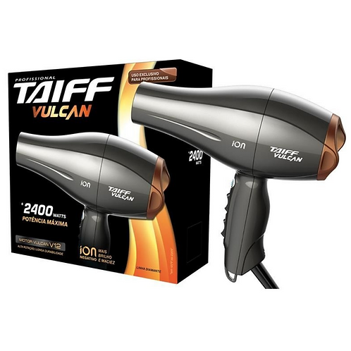 Secador Taiff Vulcan 2400W 127v