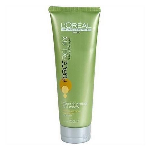 - Creme de Pentear L'Oréal Professionnel Force Relax Care Nutri-Control 200ml