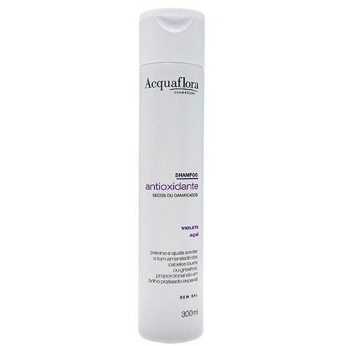 Shampoo Acquaflora Antioxidante Secos ou Danificados 300ml