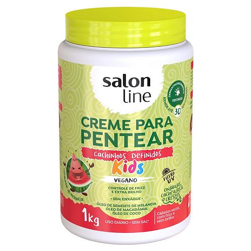 Creme para Pentear Salon Line Kids Cachinhos Definidos 1K