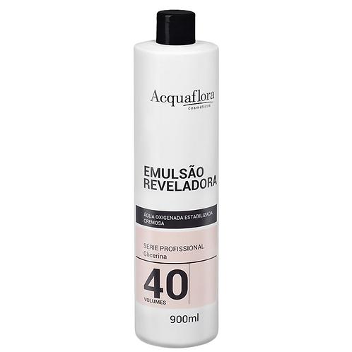 Emulsão Reveladora Acquaflora 40vol 900ml (Água Oxigenada)