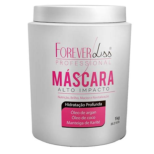 Máscara Forever Liss Hidratação Alto Impacto 1kg