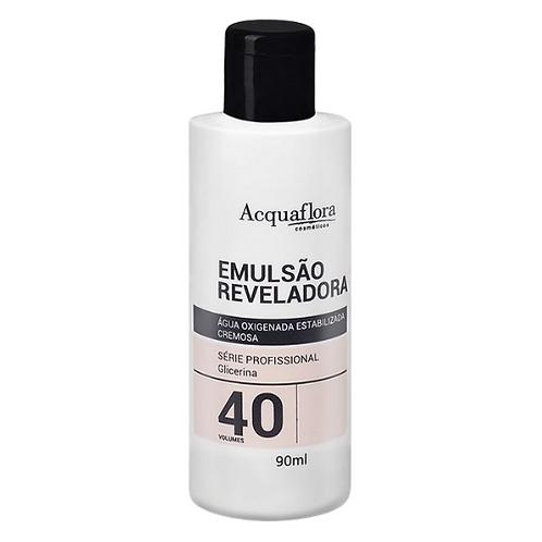 Emulsão Reveladora Acquaflora 40vol 90ml (Água Oxigenada)
