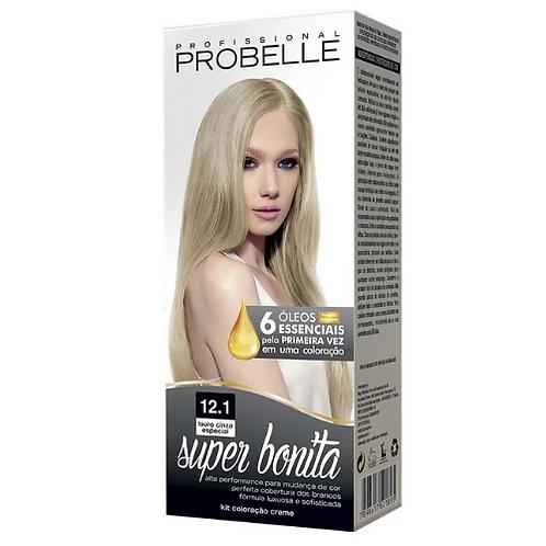 Coloração Probelle Super Bonita 12.1 Louro Cinza Especial 50g