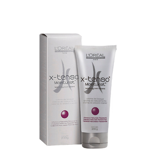 Creme de Relaxamento L'Oréal X-Tenso Cabelos Naturais Resistentes 200g