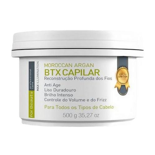 Botox Capilar For Beauty Moroccan Argan Max Ilumination 500g