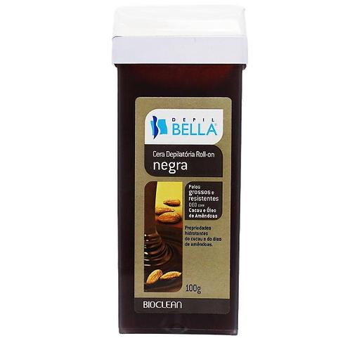 Depil Bella Cera Depilatória Roll-On Negra 100g