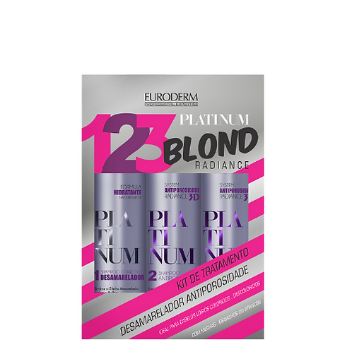 Kit Bioderm Platinum Blond Radiance 200ml