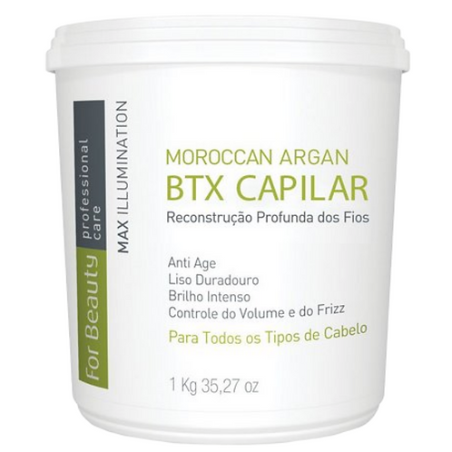 Botox Capilar For Beauty Moroccan com Argan Oil sem Formol 1kg