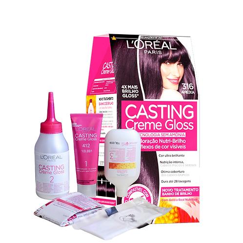 Coloração L'Oréal Paris Casting Gloss 316 Ameixa
