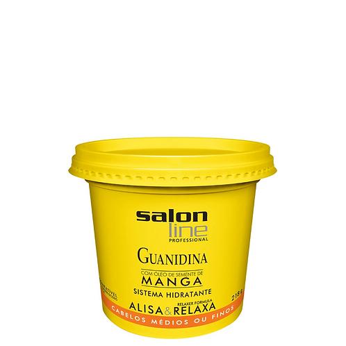 Guanidina Salon Line Óleo Semente de Manga Alisa e Relaxa 218g