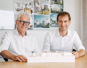 Architekten Hariolf Brenner und Valentin