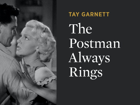 """The Postman Always Rings Twice"", Criterion Channel and Lana Turner"