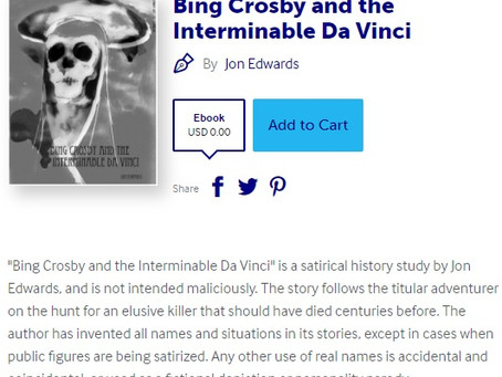 "Free Novella on Lulu ~ ""Bing and Da Vinci"""