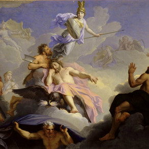 Poem: Athena Born, Cast with Adorned Armor Full