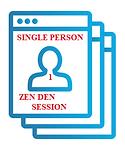 Single Person Zen Den Session
