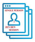 Single Person Zen Den Session