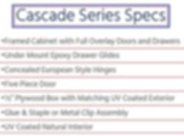 Cascade Series | Buckeye Kitchen & Bath Design
