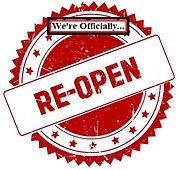 We're Re-Opened Now!
