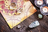 Energetic crystal and gemstones clearing with dowsing divining, psychic, subtle energy work