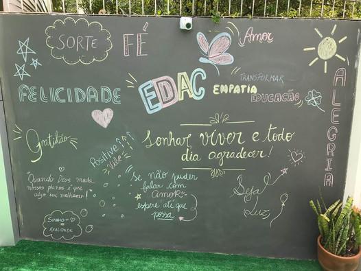 Parede criativa EDAC